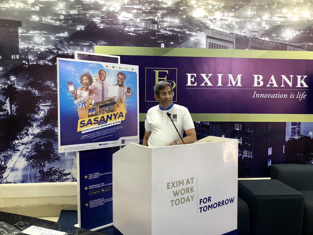 Sasanya with Exim Digital Banking promotion launch