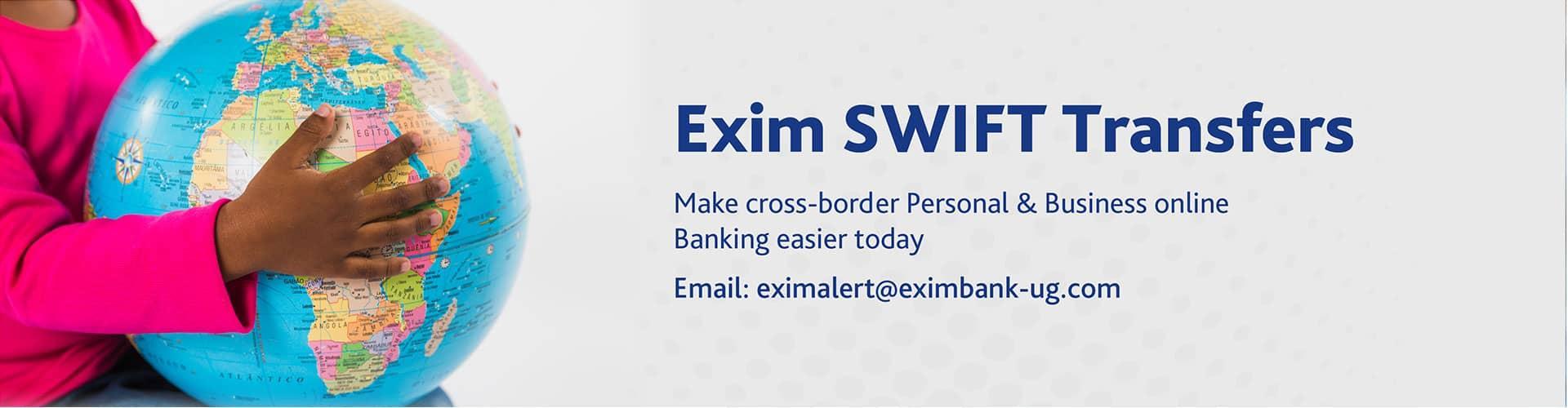 Exim Bank Swift Transfers