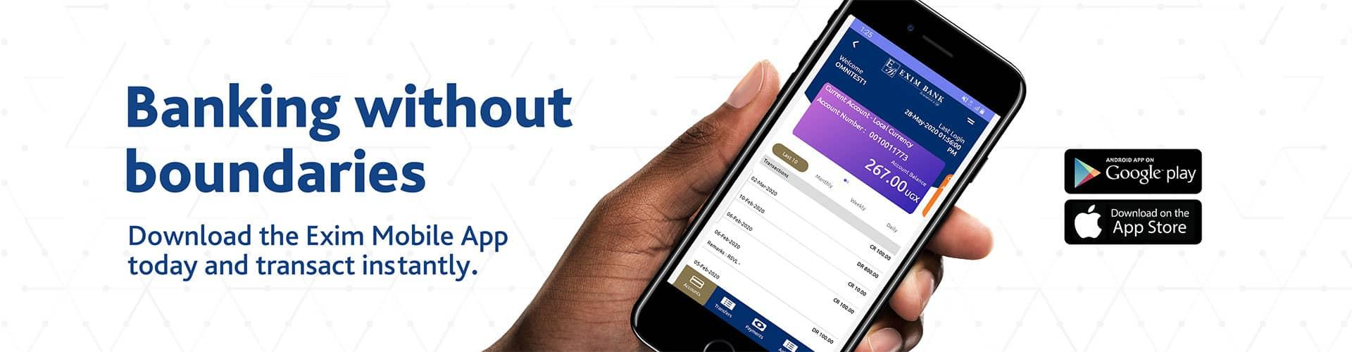 Exim Mobile Banking App